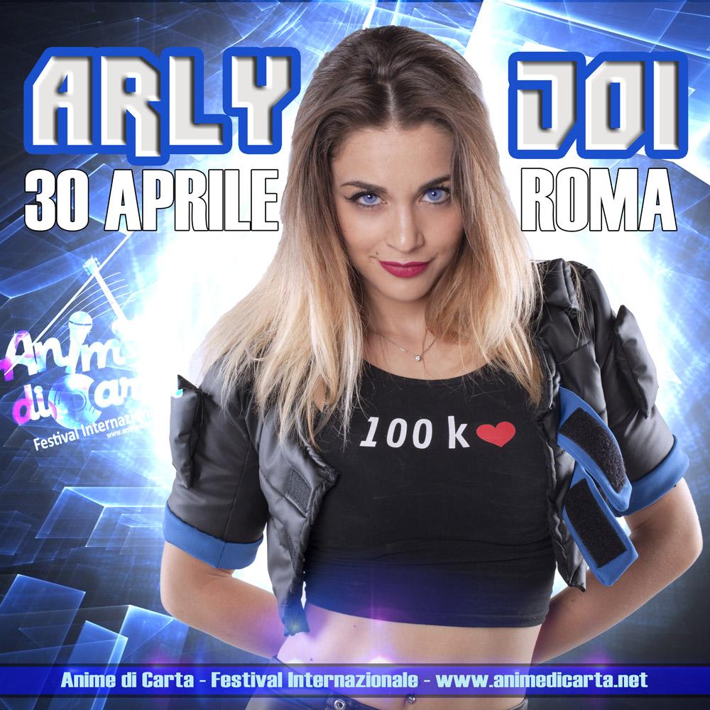 Arly Joi - esibizione musica dal vivo al Boogie Club